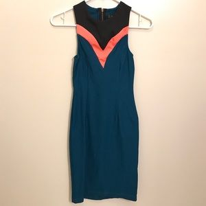 Naven Dresses & Skirts - Naven Blue Siren Tri Color Dress