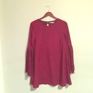 loveriche Dresses & Skirts - Maroon/Burgundy LOVERICHE Dress. Size L.
