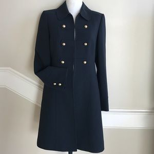 Tahari Jackets & Blazers - Tahari Military inspired navy coat size 2