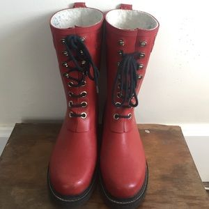Ilse Jacobsen Shoes - Red Jacobson rain boots