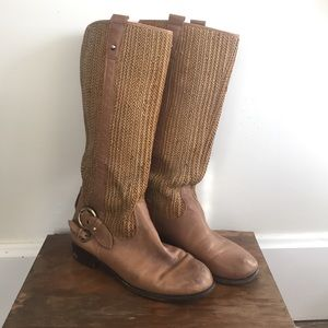 Anthropologie Shoes - Anthropologie Schuler and Sons woven leather boot