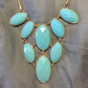 Beautiful Turquoise Statement Necklace