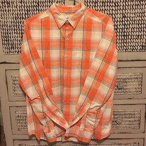 Columbia button down shirt men's size medium