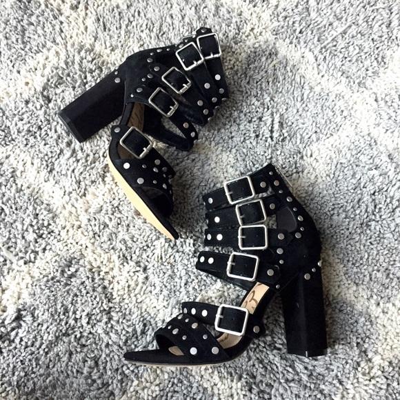 979166ee5ceb NWOT Sam Edelman York black studded sandals. M 588a17486d64bcae16005933