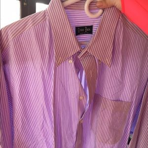 Gitman Brothers Other - Lavender pinstripe Gitman Bros Dress Shirt