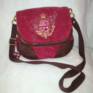Juicy Couture cross body purse