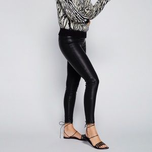 Free People Pants - Blank NYC Vegan Leather Pull-on Leggings