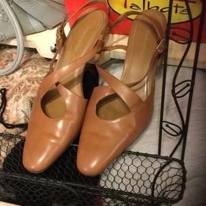Naturalizer Shoes - Beautiful camel colored heels.