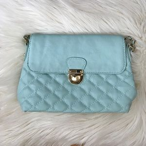 NWOT F21 Quilted Cross-Body Bag