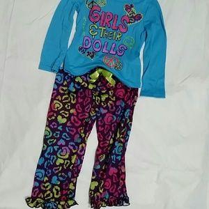 Dollie & Me Other - 2 Piece Pajama Set