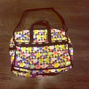 LeSportsac Handbags - LeSportsac Large Weekender Duffle Bag