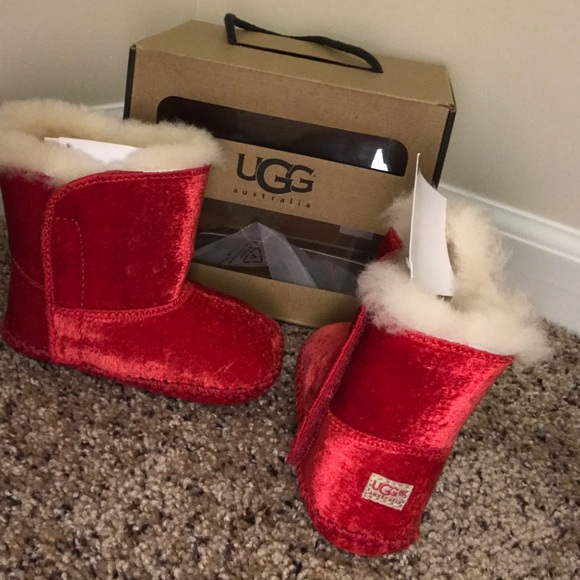 UGG Shoes | Red Baby Ugg Boots | Poshmark