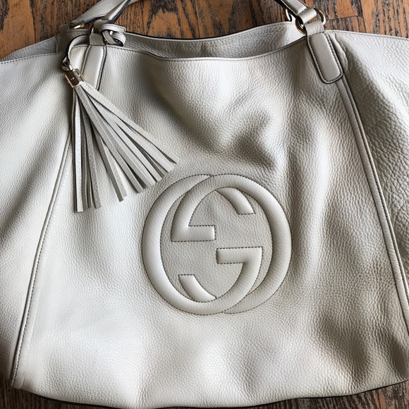 60% off Gucci Handbags - GUCCI SOHO LEATHER HOBO BAG 💋 from ...