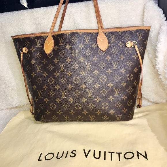a6d702c1712e Louis Vuitton Handbags - Authentic LV Neverfull Monogram Code SD1193