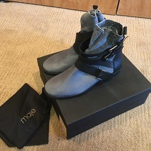 Maje Shoes - • Maje • new in box denim boots