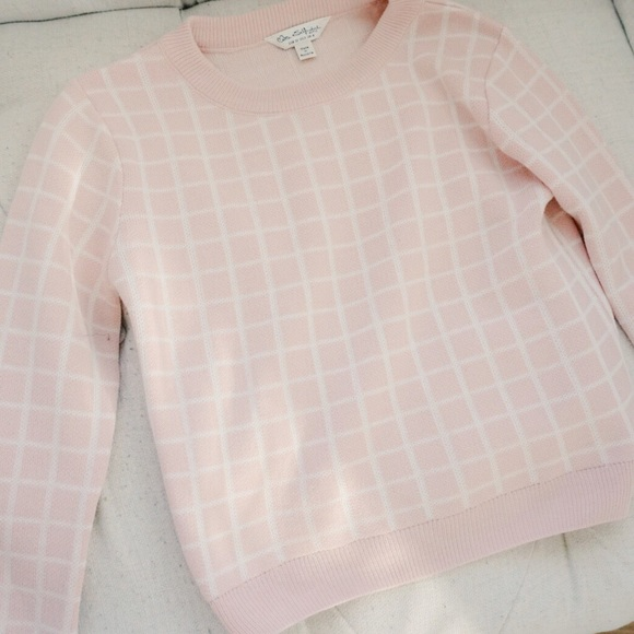 27% off miss selfridge Sweaters - plaid baby pink sweater from ...
