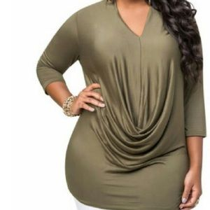 Ashley Stewart Tops - V neck top