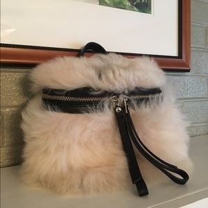 Marc by Marc Jacobs Handbags - Marc by Marc Jacobs Canteen Fur Bag