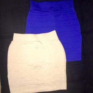 Dresses & Skirts - BODY CON PANELED SKIRT BUNDLE