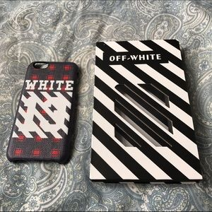 Off-White Accessories - Brand new off-white case for iPhone 7