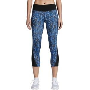 Nike Pants - Nike Women's Power Printed Running Capris