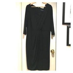 Eloquii Dresses & Skirts - Elegant formal Eloquii dress split front pleated