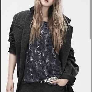 Isabel Marant pour H&M Tops - Isabel Marant Long Sleeve print Shirt