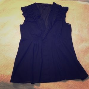 BCBGMAXAZRIA black blouse. Size S