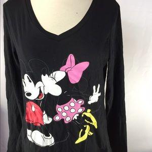 Women's Disney LS TShirt Sz L