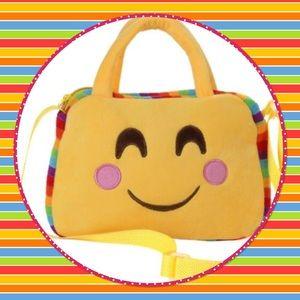 Emoji Shoulder Backpack / Handbag