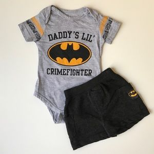 Batman Other - Batman Onesie and Shorts