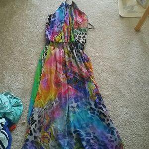 Boston Proper Dresses & Skirts - PROM Boston proper halter full length dress