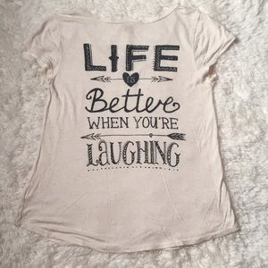 Tops - Life is Better Tee