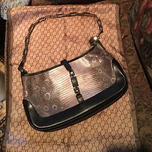 Gucci authentic limited edition snake skin bag