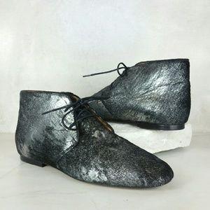 ISABEL MARANT ETOILE calf hair boots