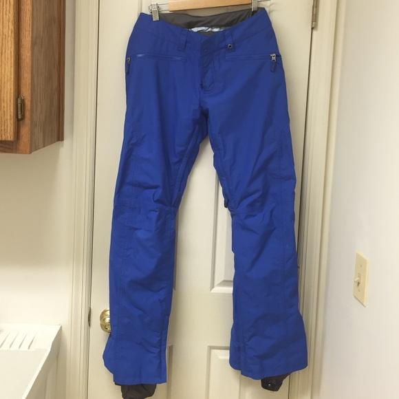 50b7503c85b Burton Jackets   Blazers - Burton Women s Royal Blue DryRide Snow Pants Med