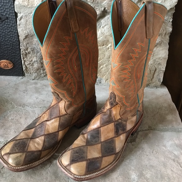 Anderson Bean Shoes Patchwork Boots Poshmark