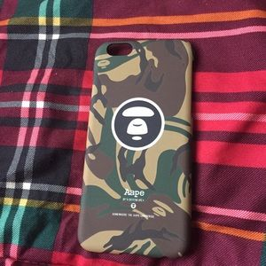 Other - Brand new bathing ape case for iPhone 6/6s