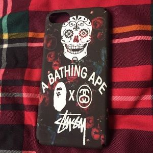 Stussy Other - new bathing ape x stussy case for iPhone 6/6s & 7