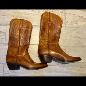 Lucchese Shoes - Luxurious Leather Boots from Lucchese in EUC! SALE