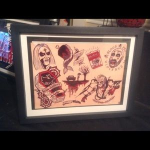 Accessories Rob Zombie House Of 1000 Corpses Flash Art Poshmark