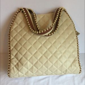 5387037921 Big Buddha Bags - New Big Buddha Georgie studded XL cream tote bag