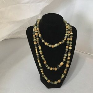 Multi-colored Mixed Bead Necklace