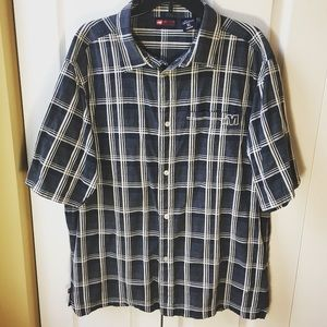 Other - Men's short sleeve casual button down shirt