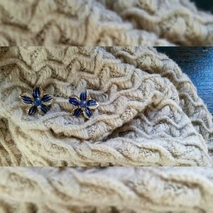 Jewelry - Blue Lily Earrings