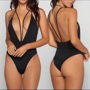 Other - NEW black one piece sexy swimsuit bikini