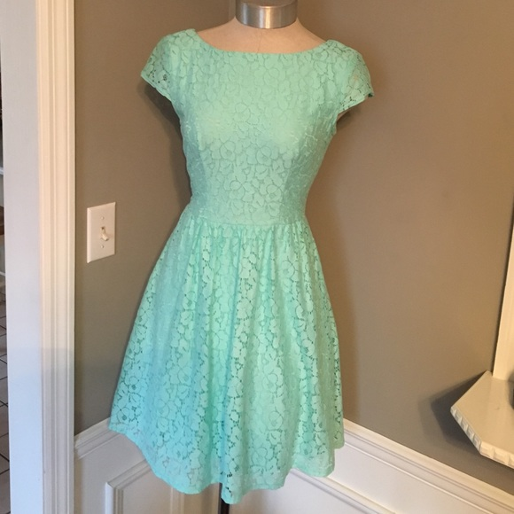 9958570d0 B Darlin Dresses   Lace Fit And Flare Dress Size 12   Poshmark