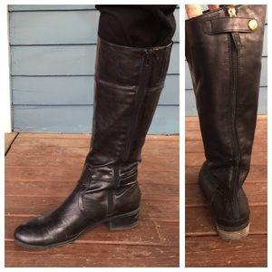 Sam Edelman Shoes - 👢SAM EDELMAN Black Leather Riding Boots