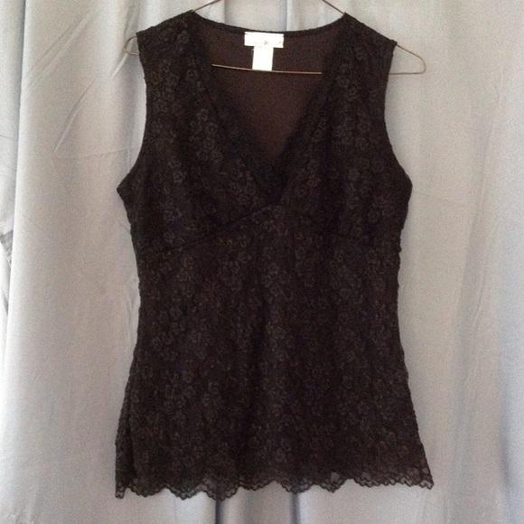 Black Lace Blouse Sale 116