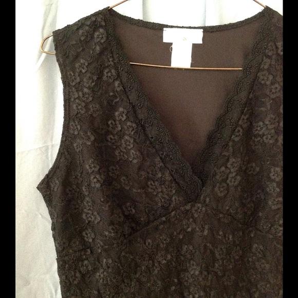 Black Lace Blouse Sale 14